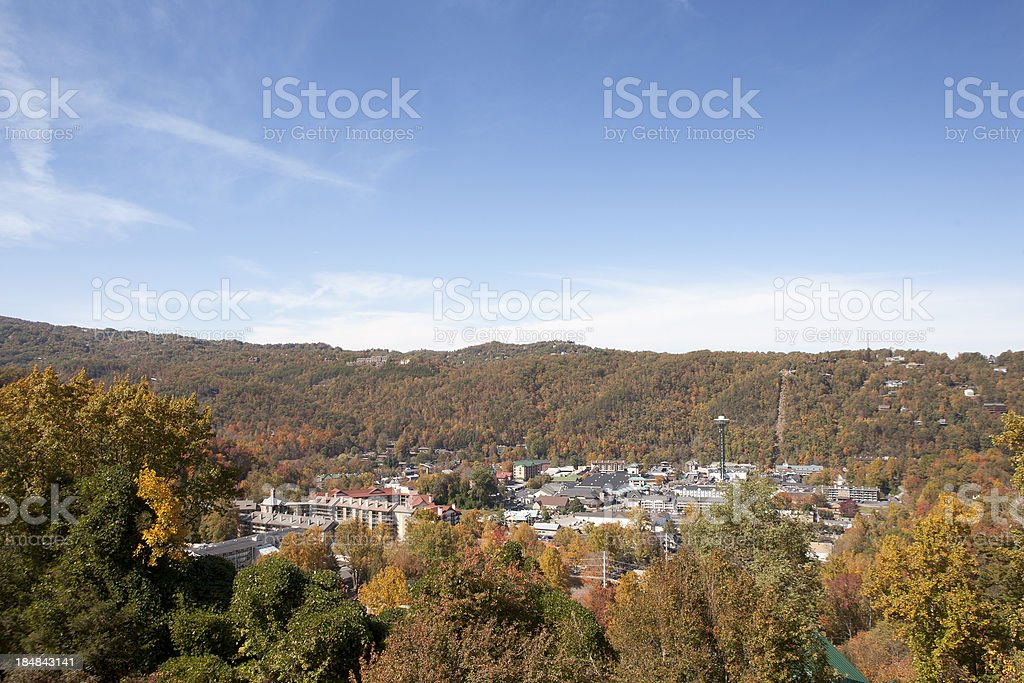 Gatlinburg Tennessee royalty-free stock photo