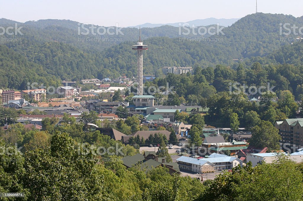 Gatlinburg, TN stock photo