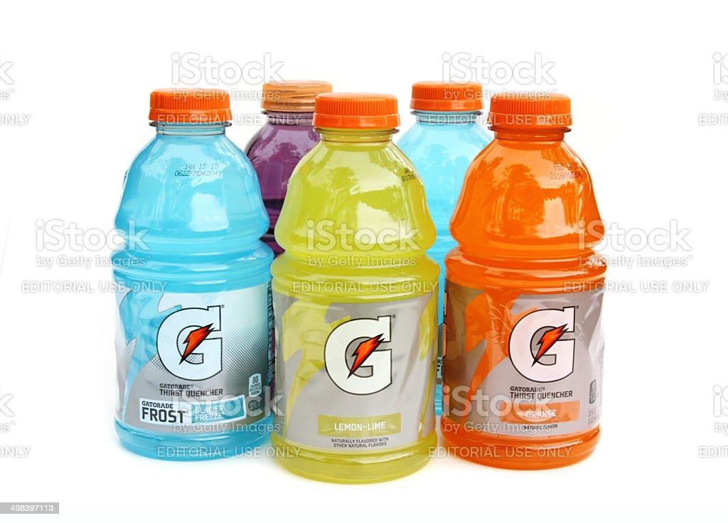 Gatorade sports drinks stock photo
