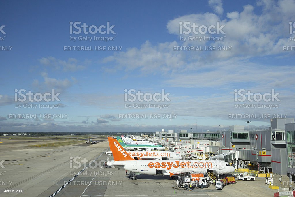 Gatwick Airport in Surrey, England stock photo