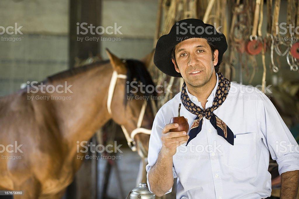 Gaucho stock photo