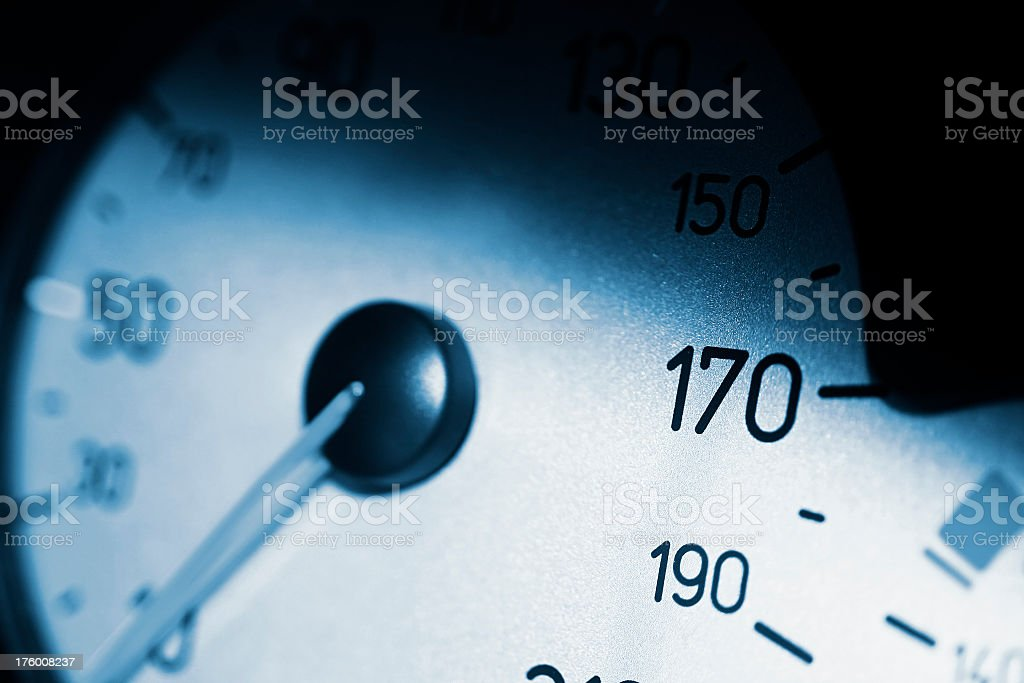 Gauge indicator royalty-free stock photo