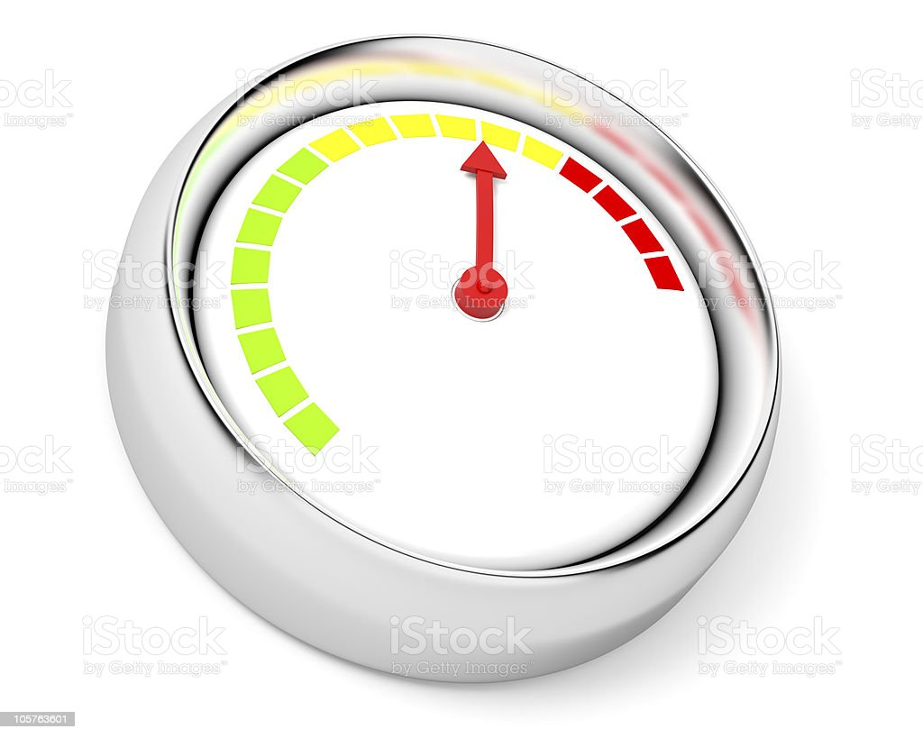 Gauge royalty-free stock photo