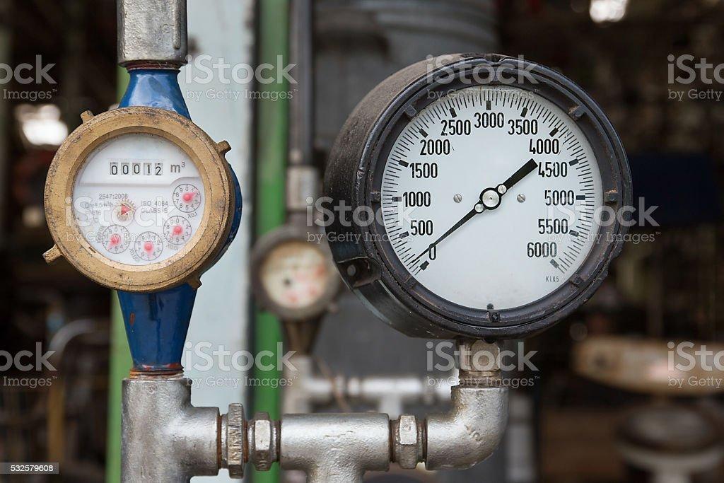 gauge stock photo