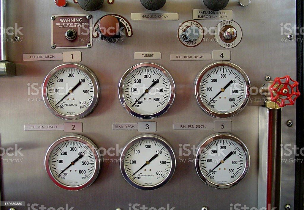gauges royalty-free stock photo