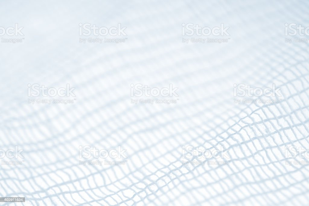 gauze closeup stock photo