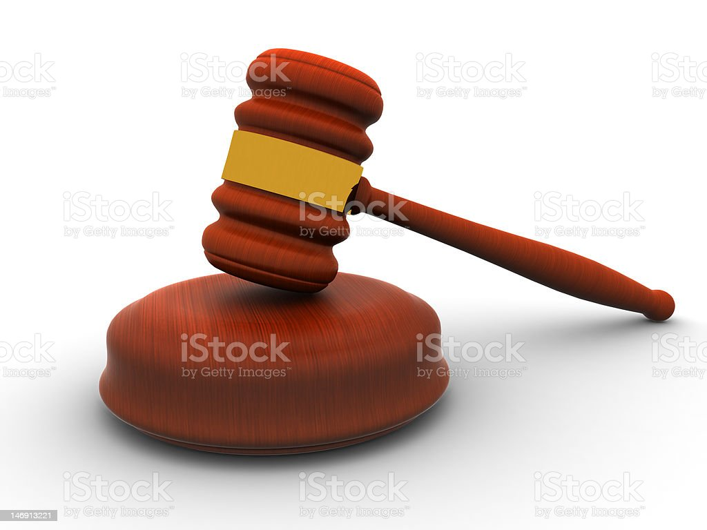 Gavel (XL) vector art illustration