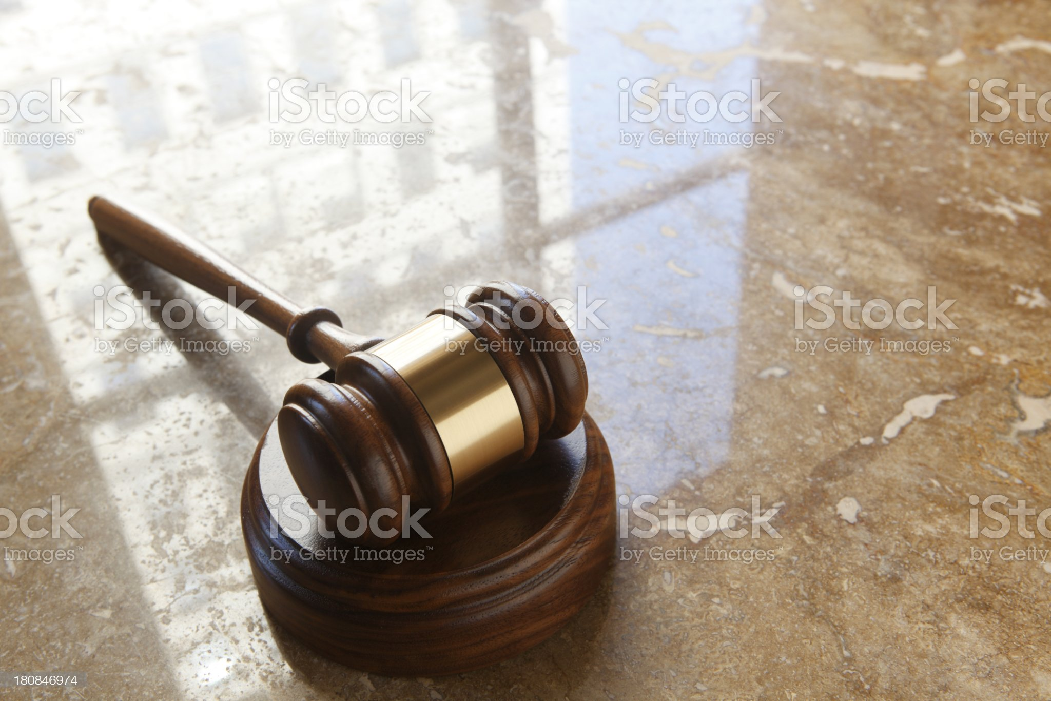 Gavel royalty-free stock photo