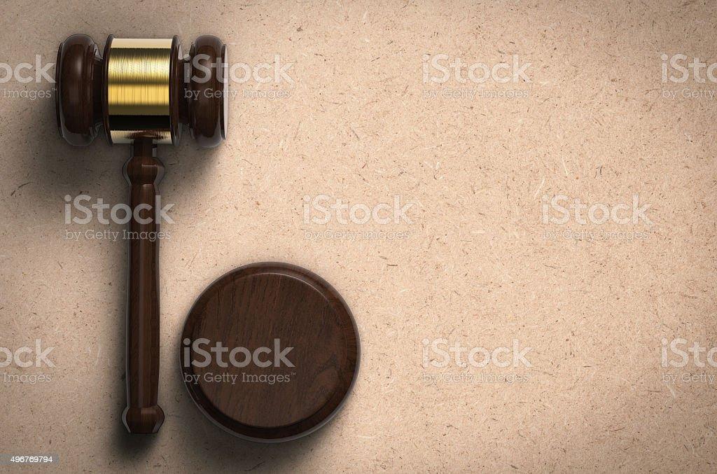 gavel stock photo