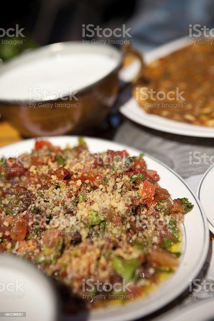 Gavurdagi Salad stock photo