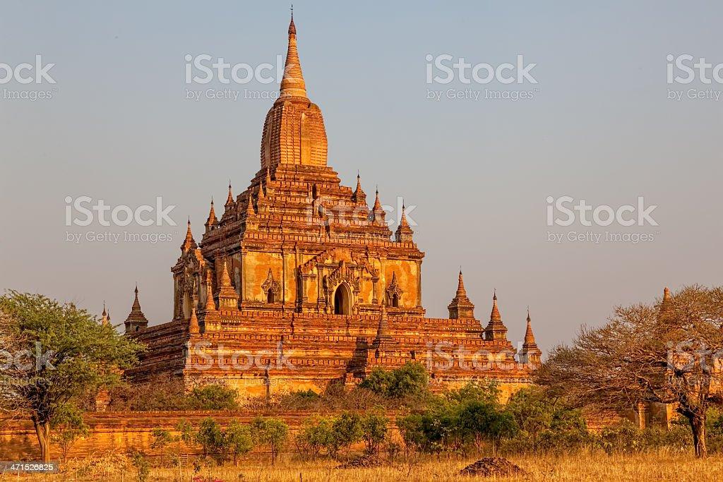 Gawdawpalin Temple royalty-free stock photo
