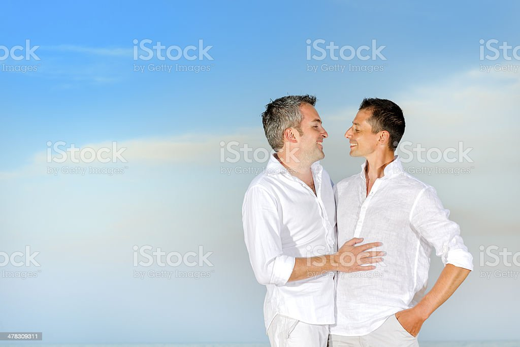 gay couple royalty-free stock photo
