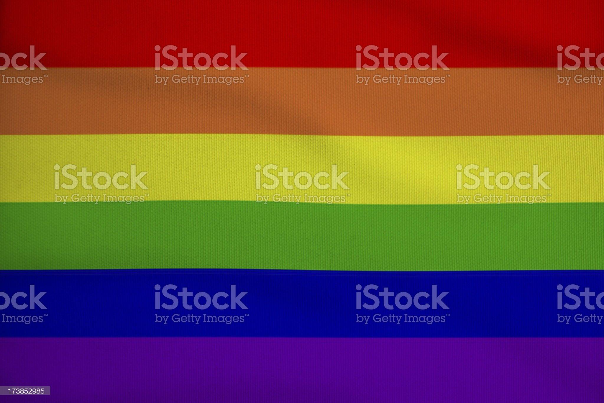 gay flag royalty-free stock photo