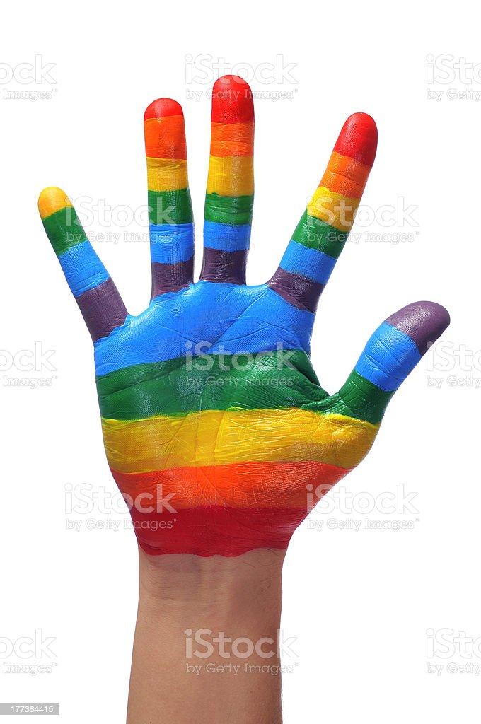 gay hand stock photo