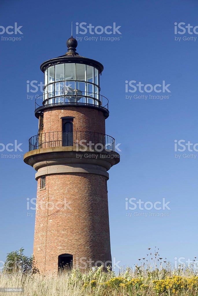 Gay Head Lighthouse stock photo