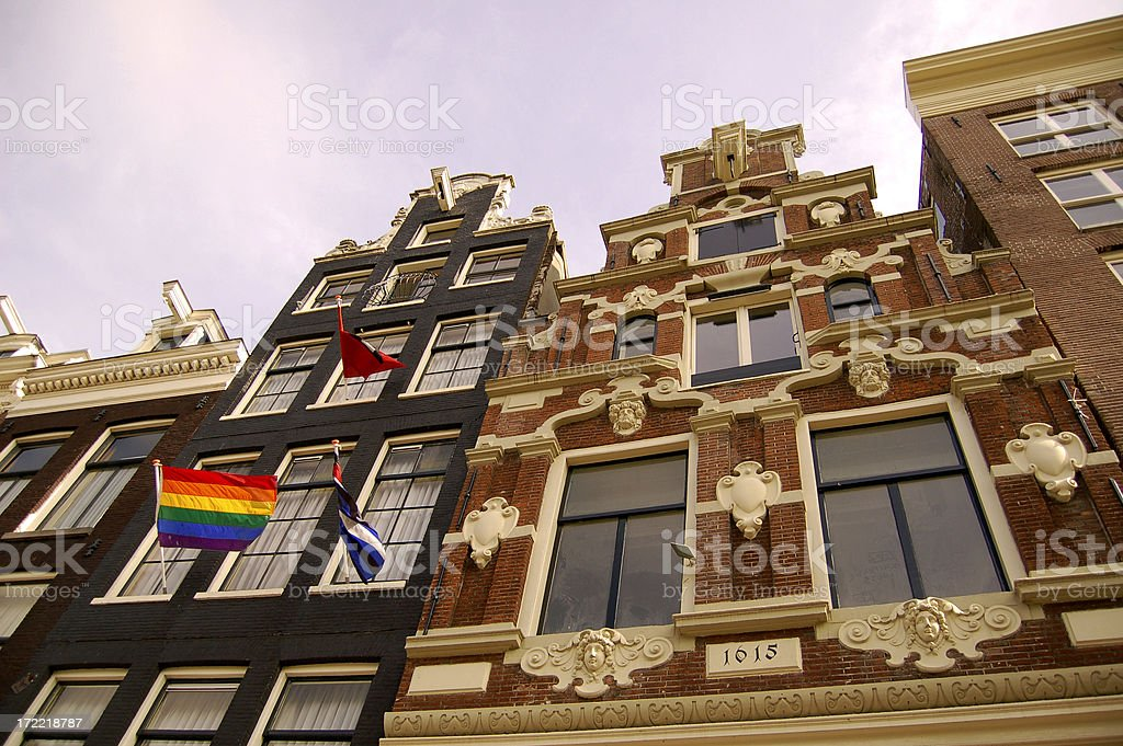 Gay Holland stock photo