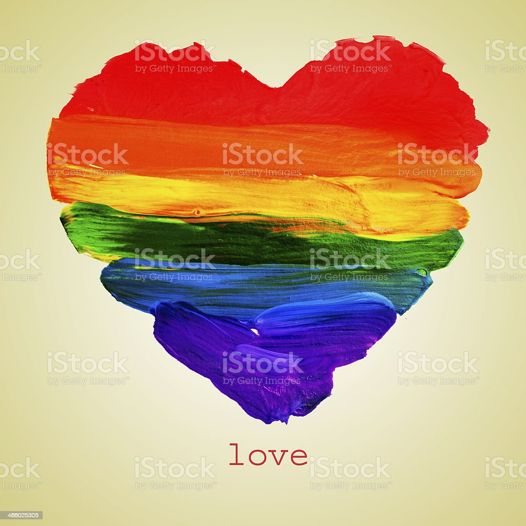 gay love stock photo