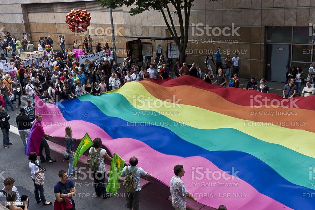 Gay parade royalty-free stock photo