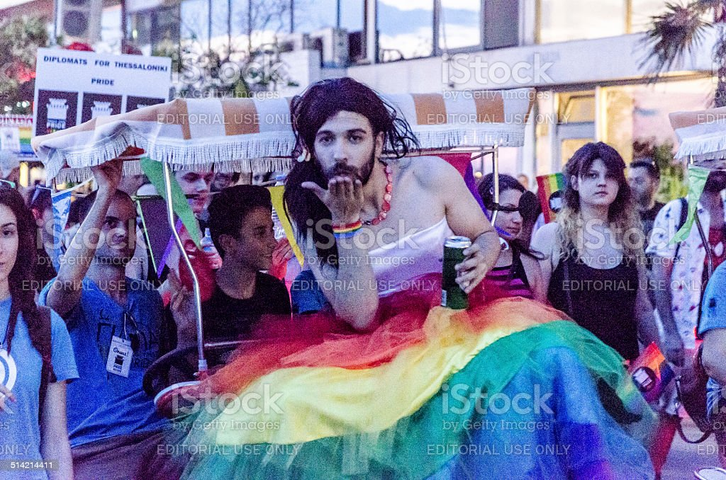 Gay Parade. stock photo