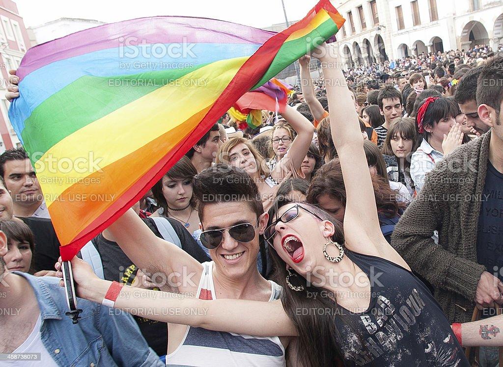 gay royalty-free stock photo