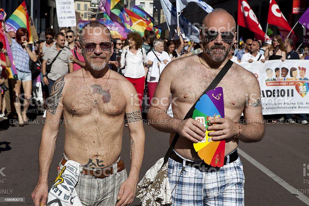 Gay Pride 2011 In Milan Italy royalty-free stock photo