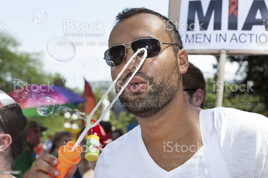 Gay Pride/ Christopher Street Day Wiesbaden 2013 royalty-free stock photo