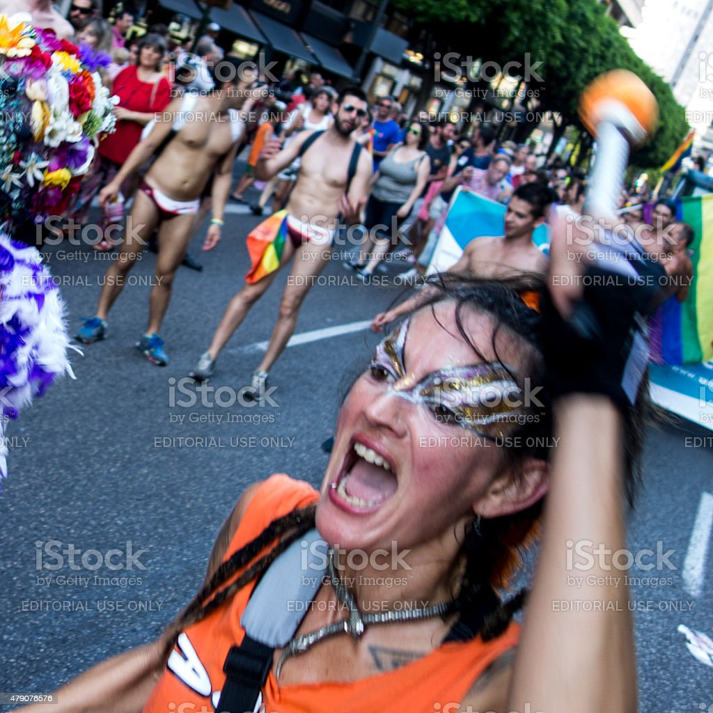 Gay pride day 2015 stock photo