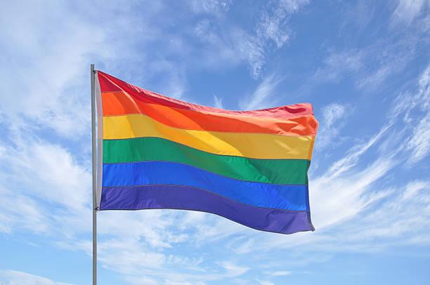 from Juan gay pride waving flag
