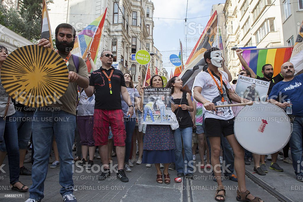 Gay Pride Istanbul 2013 royalty-free stock photo