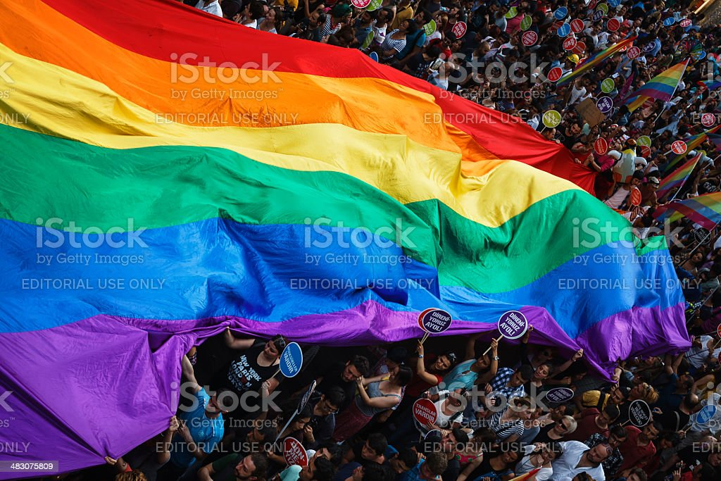 Gay Pride Istanbul royalty-free stock photo
