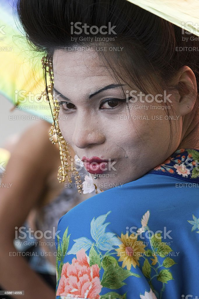 Gay Pride March in Argentina royalty-free stock photo