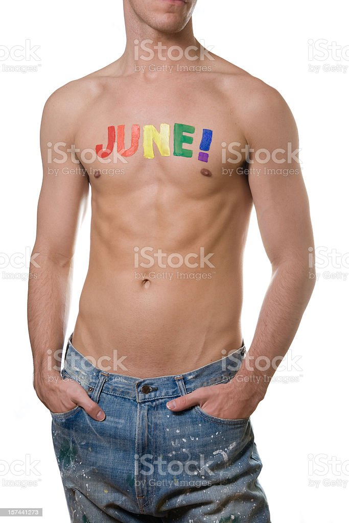 Gay Pride Month - June royalty-free stock photo