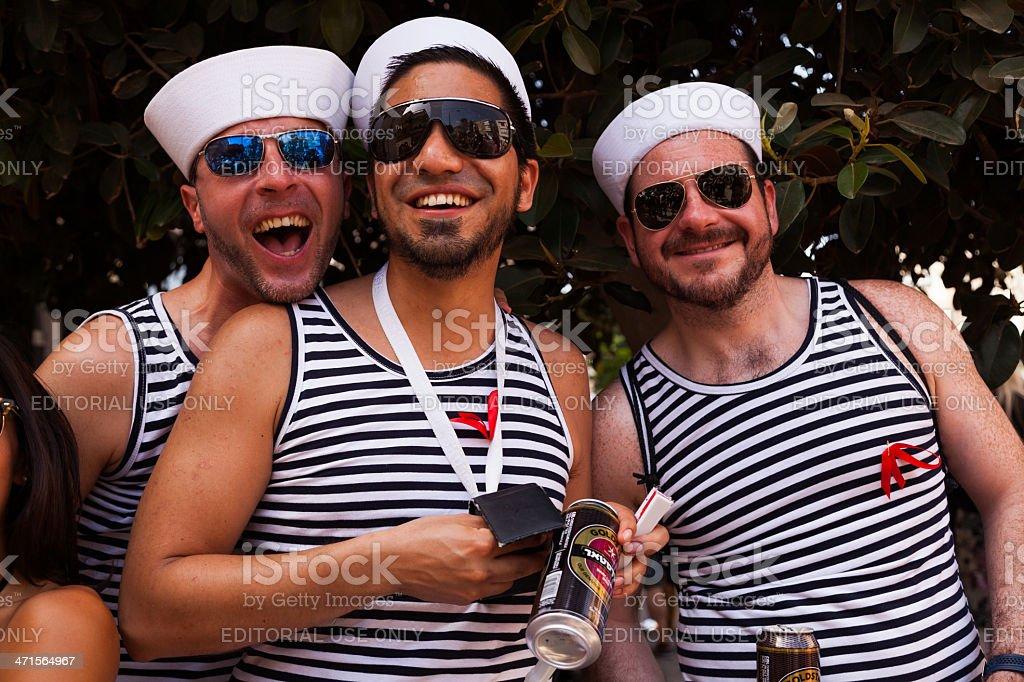 Gay Pride Parade Tel-Aviv 2013 royalty-free stock photo