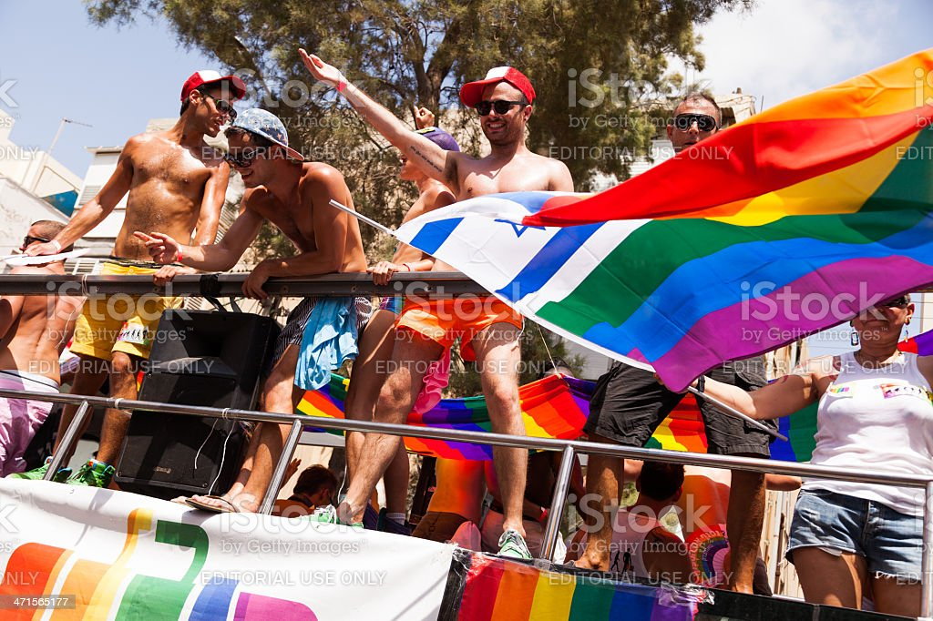 Gay Pride Parade Tel-Aviv 2013 royalty-free stock photo