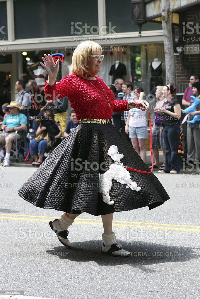 Gay Pride Parade Transvestite royalty-free stock photo
