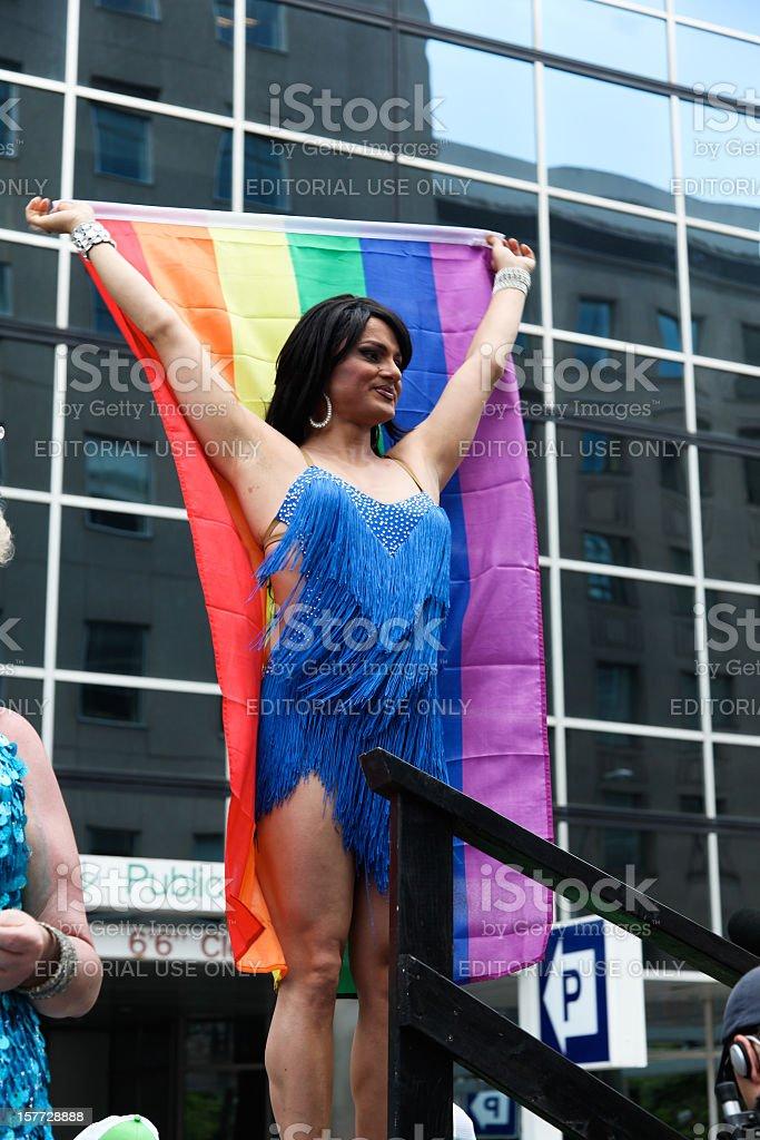 Gay Pride Toronto royalty-free stock photo