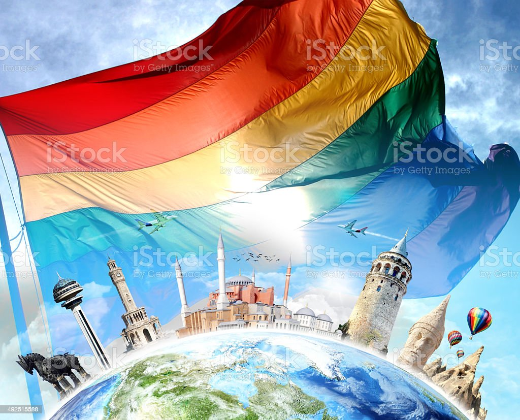 Gay Pride - Turkey travel scene stock photo