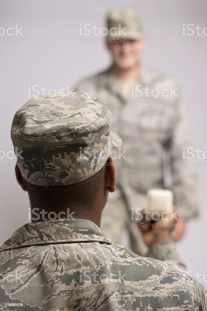 Gay Rights in the Military royalty-free stock photo
