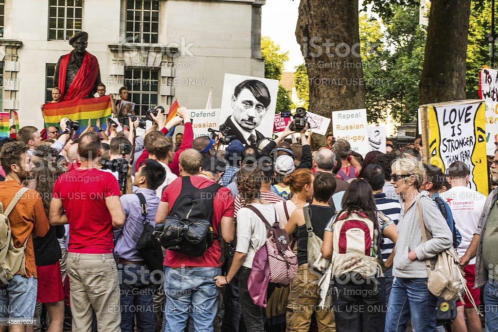 Gay rights royalty-free stock photo