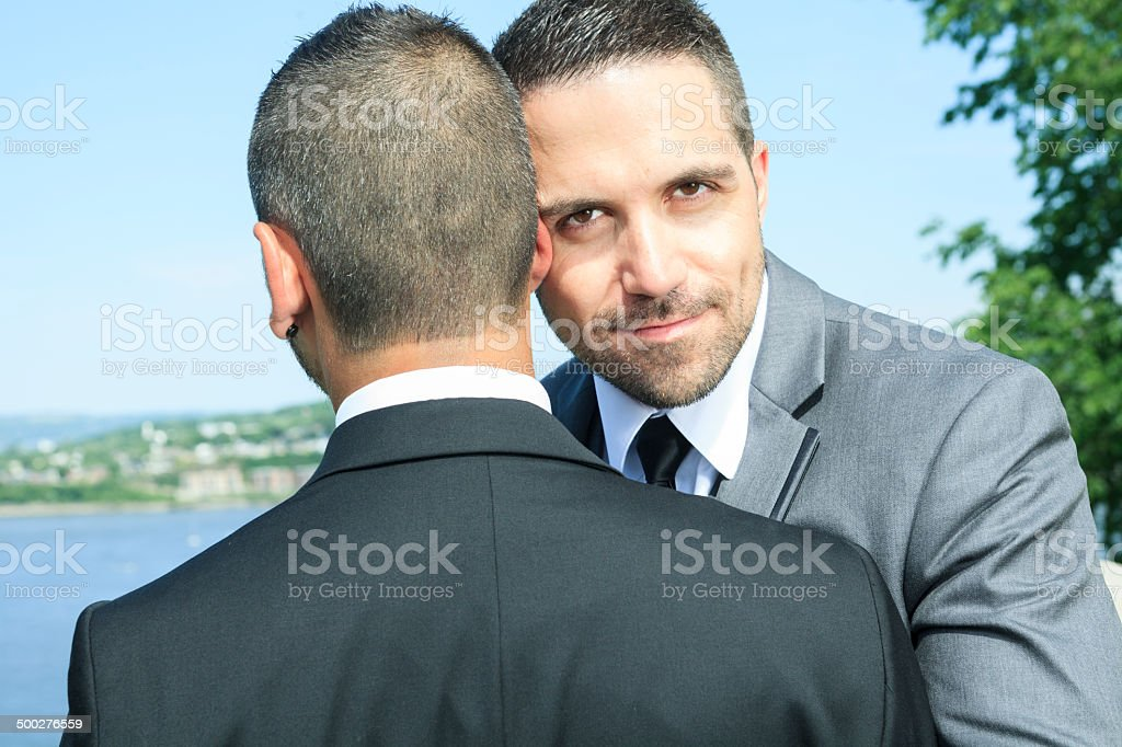 Gay Wedding - Nice Look royalty-free stock photo