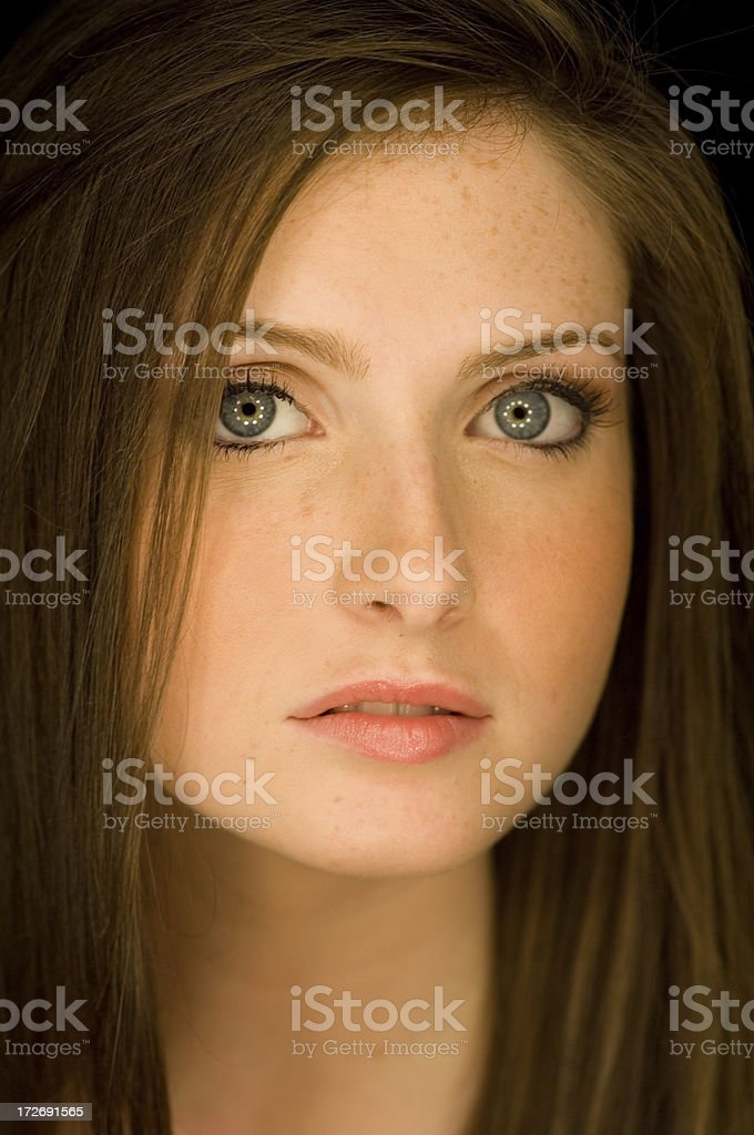 gaze royalty-free stock photo