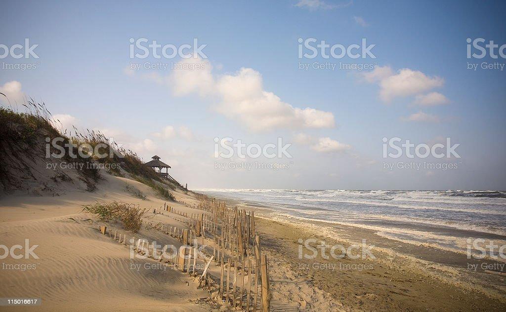 Gazebo On Beach stock photo