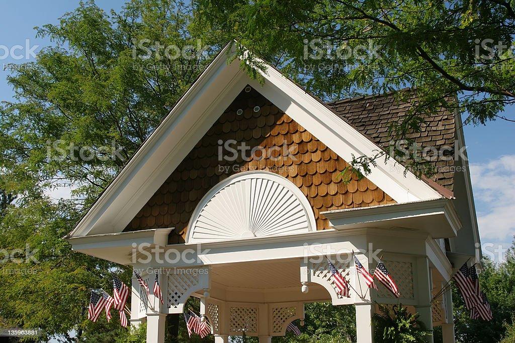 Gazebo Roof Detail 1 stock photo