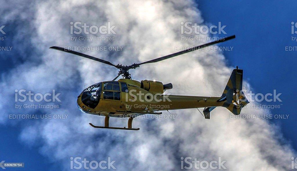 Gazelle helicopter. stock photo