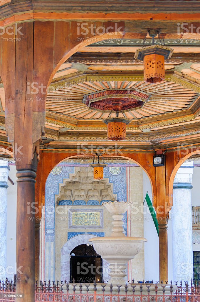 Gazi Husrev-beg mosque stock photo
