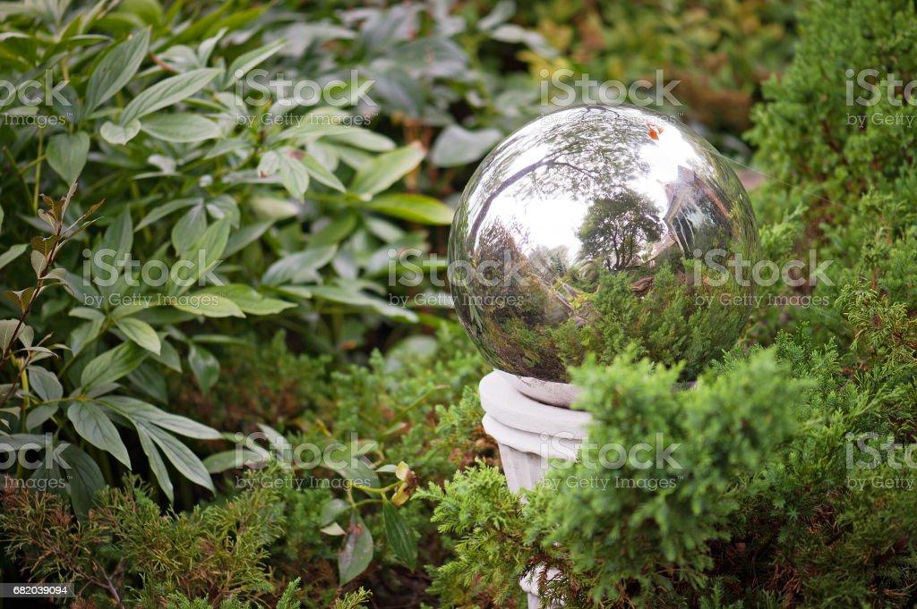 Gazing Ball stock photo