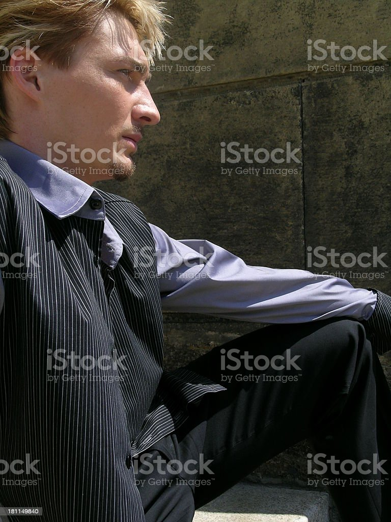 Gazing stock photo
