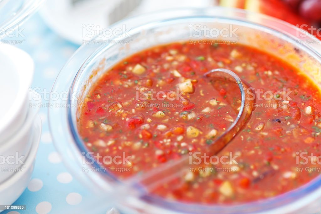 Gazpacho stock photo