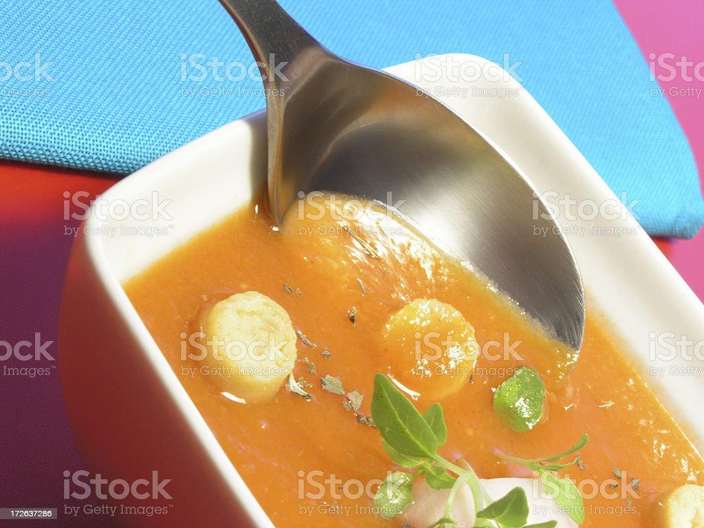 gazpacho soup royalty-free stock photo