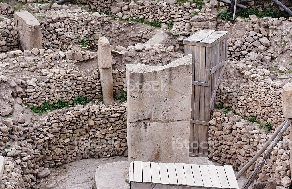 Göbekli Tepe royalty-free stock photo